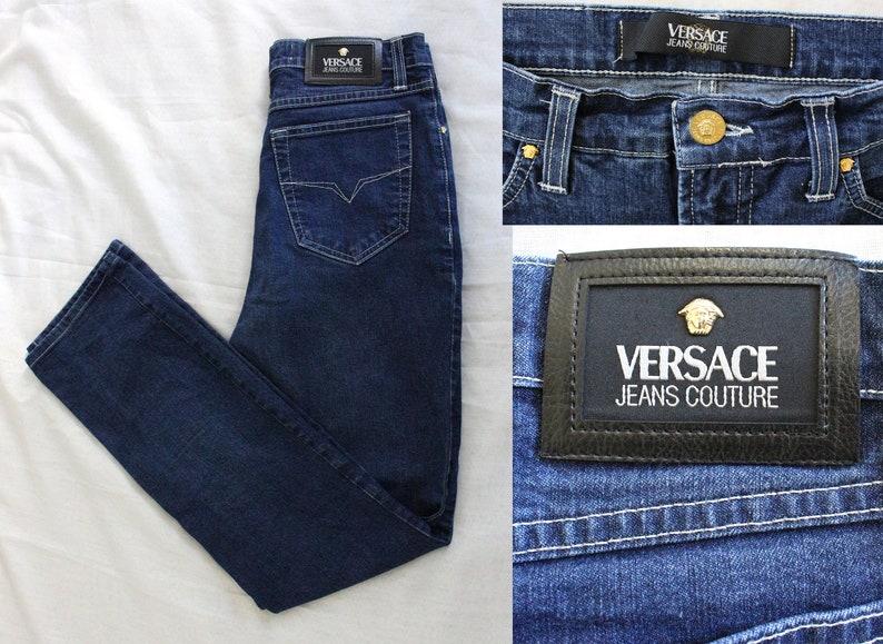Versace pantaloni jeans versace jeans couture taglio etsy