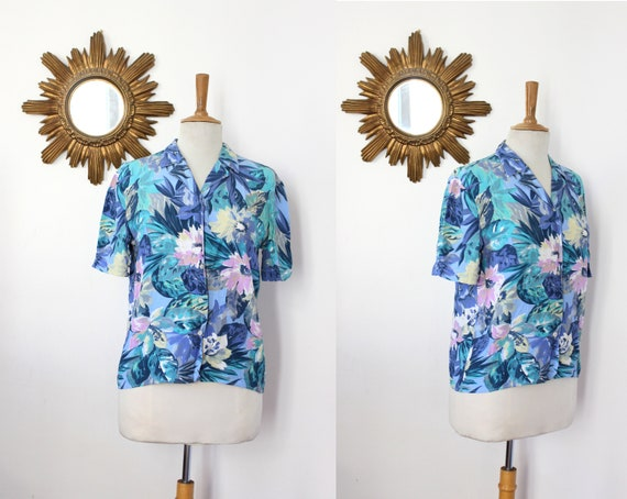 CACHAREL / Cacharel Vintage Shirt The 1980s Hawaii