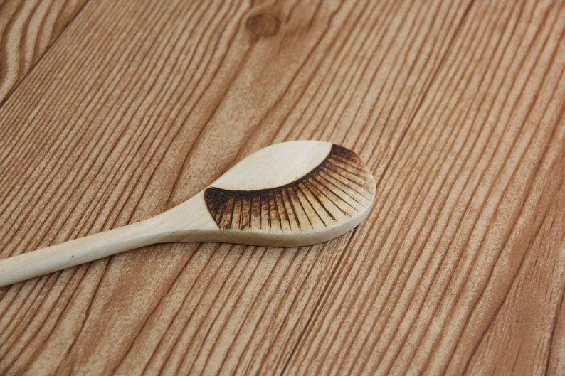 cooking kitchen witch Kitchen Wand ~ wood burned spoon