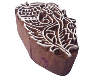 Traditional Wood Blocks for Printing DIY Henna Mehndi Wedding Printing Stamps Htag0501-510