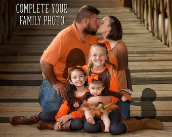 Miscarriage, Stillbirth, and Infant Loss Family Photo Alterations