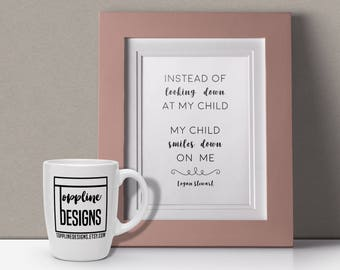 aa538c64889 Personalized Pregnancy & Infant Loss Quote Digital Print - 8
