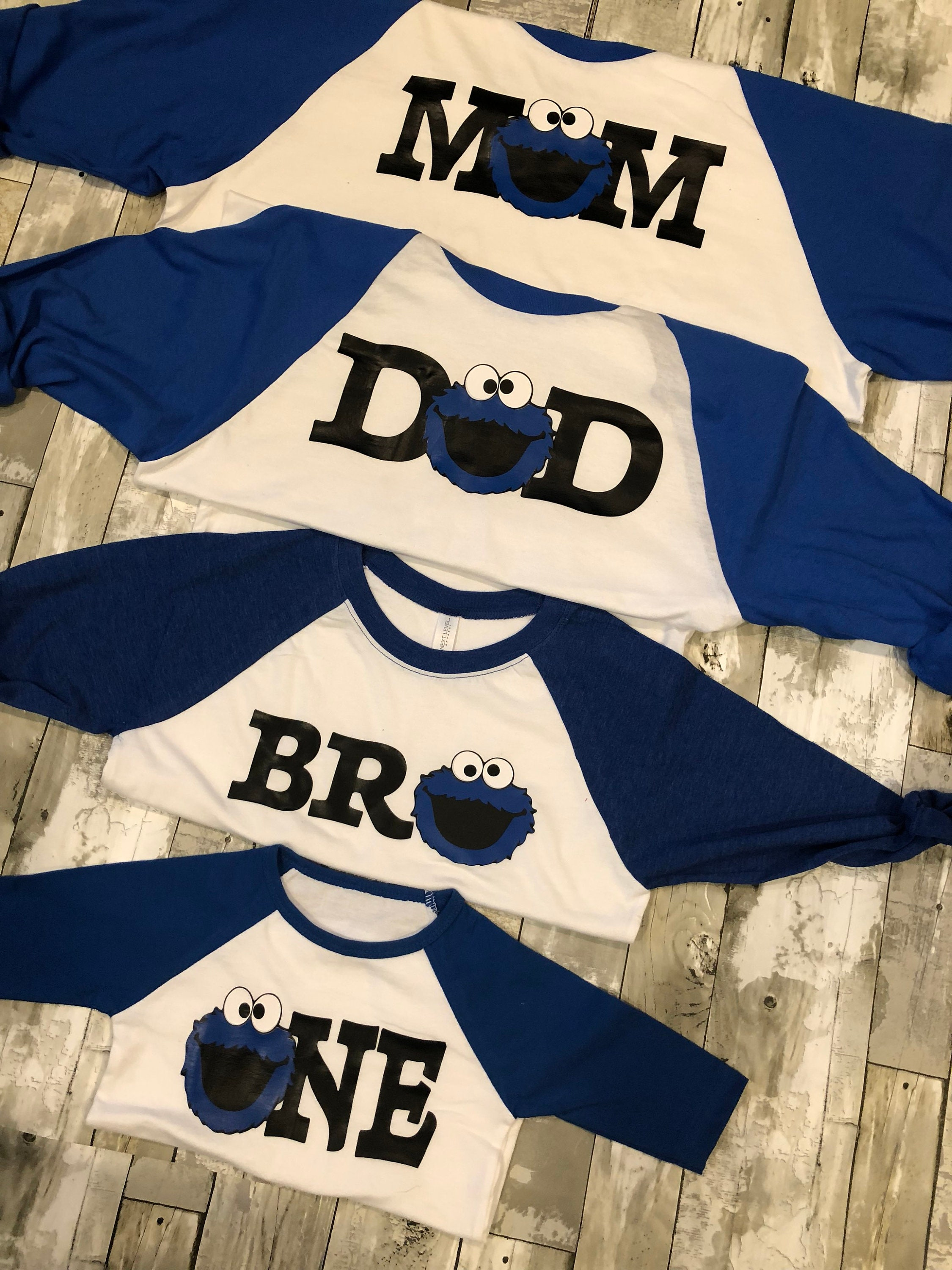d6ba3428 Cookie Monster birthday shirt. Family cookie monster shirts. Cookie ...