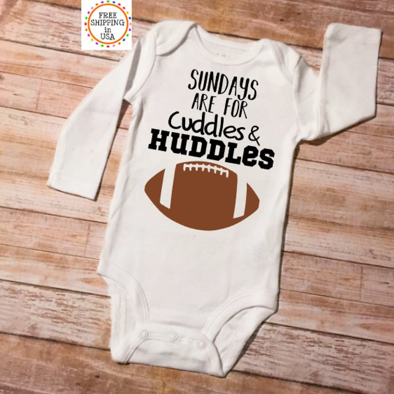 3311d1a93 Football Onesie Baby Shower Gift Football Onesie Boy | Etsy