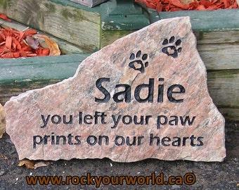 Pet Memorial Stone, Pet Memorial, Pet Memorial Gift, Memorial Gift, Garden Pet Memorial, Memorial Garden, Cat Memorial, Loss of Pet Dog