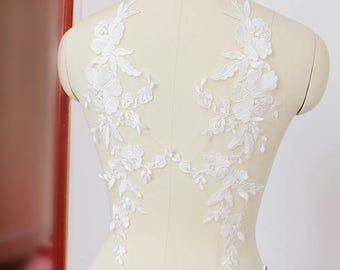 Prom dress applique etsy