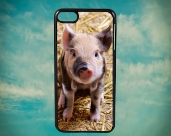 For Apple iPod Touch 5th 6th Shockproof Hard Case Cover Happy Pig