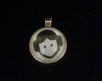 Star wars Princess Leia pendant