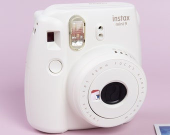 Fujifilm Instax Mini 9 Photo Camera. Instax Photo Camera. Pure White/Ice Blue/Cobalt Blue/Flamingo Pink/Smoky White/Lime Green