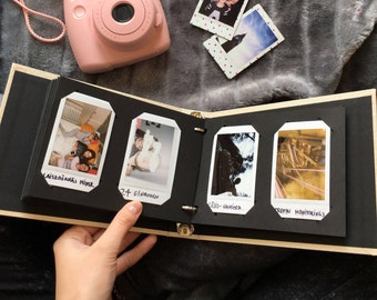 Instax Mini Album. Instax Wedding Guest Book. Instax Photo Album for 60/80/100 Photos. For Fujifilm Instax Mini 9, 8, 7s, 25, 50s, 70, 90.