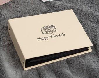 Fujifilm Instax Mini Album for 40 or 60 Photos. For Fujifilm Instax Mini 8, 9, 11, 40, Neo 90. Instax Photo Book. Two Ring Album for Instax.
