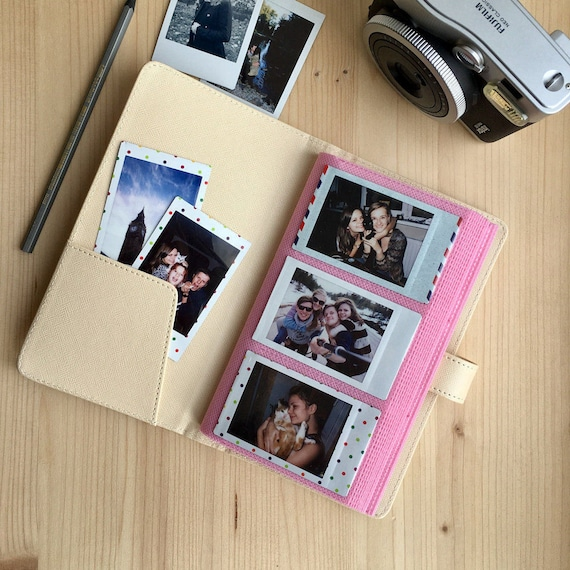 Instax Mini Album Instax Photo Album For 120 Photos Fujifilm Etsy