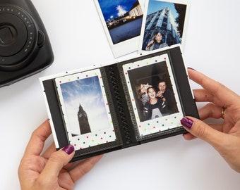 Instax Mini Album for 20 Photos. For Fujifilm Instax Mini 11, 9, 8, 7s, 90, 70, Leica Sofort. Small Instax Album.