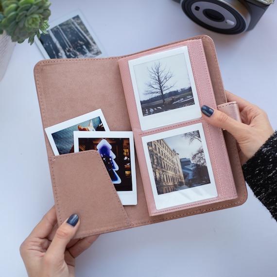 Album a Tasche ORIGINALE per Foto FujiFilm Instax Square Photo Album 40 foto