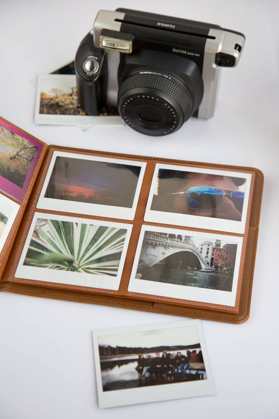 Instax Wide Photo Album For 80 Photos. Photo Album For Instant Photos. Fujifilm Instax Wide 200, 210, 300, Fp 100c. by Etsy