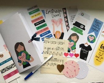 Embrace Love Workshop Bible journaling devotion kit