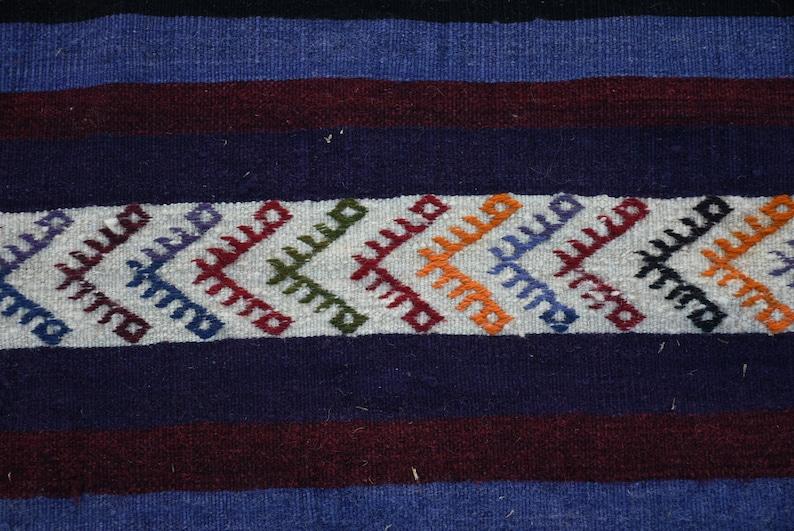 Oushak Kilim Large Kilim H-7283 Oriental Kilim Vintage Kilim 5.3x12.2 feet Salon Kilim Anatolian Kilim Turkish Kilim Antique Kilim
