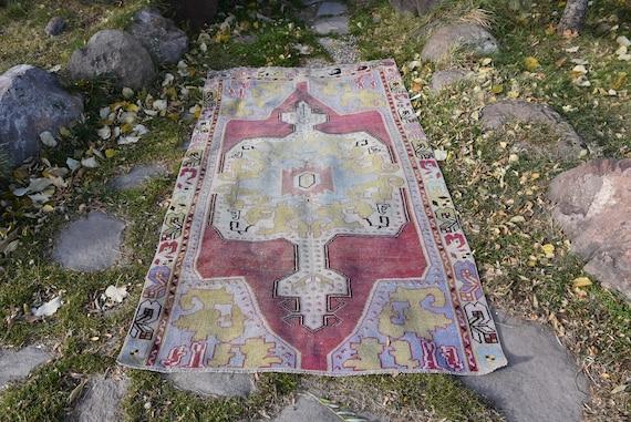 Aztec Rugs Bohemian Rugs Decorative Design Rugs Office Decor Turkish Vintag 575e Antiques