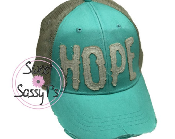 HOPE DISTRESSED Dad Hat
