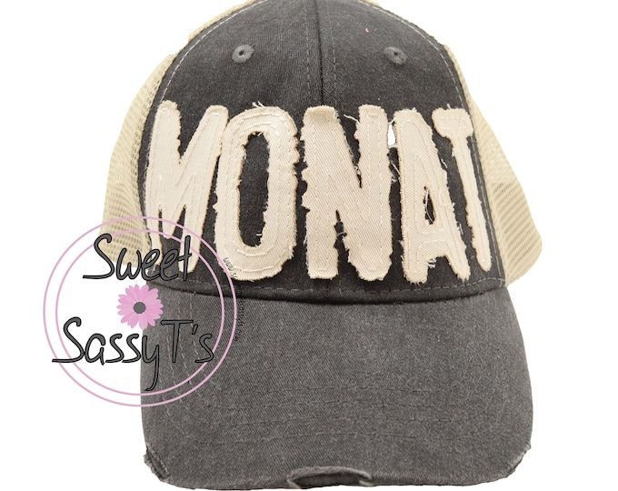 MONAT DISTRESSED Dad Hat
