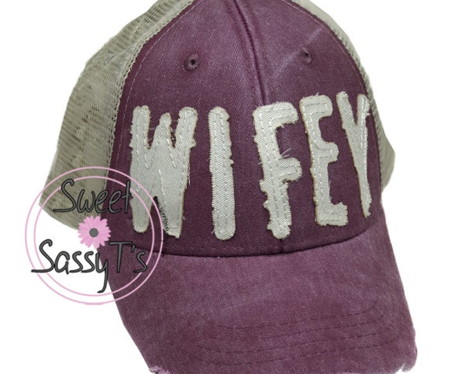 WIFEY DISTRESSED Dad Hat