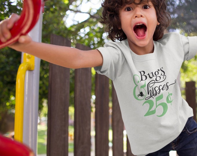 Bugs & Hisses .25 - Toddler Tee