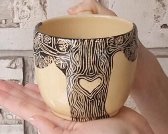 Mother mugs Pottery mug Mothers day gift Large coffee mug Big mug Ceramic mug Beautiful mug Unique coffee mug Ceramic mug handmade Clay mug