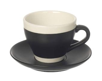 Monochrome teacup