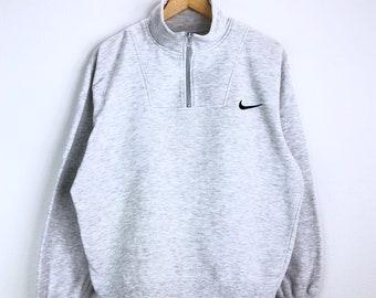 594bb08e4 Vintage 90's Nike Sweatshirt Nike Small Logo Pullover Jumper Sweater  Sportwear Hip Hop Swag