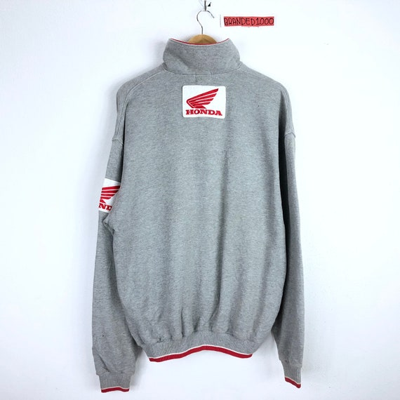 Rare!!! Vintage Honda Sweatshirt  Honda Official W