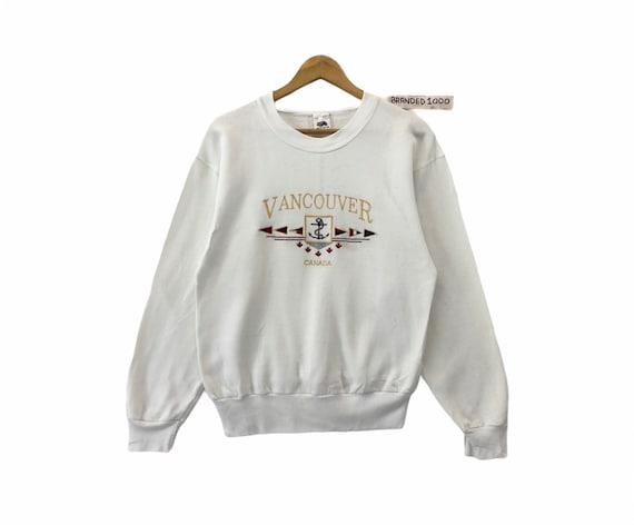 Rare!!! Vintage Vancouver Sweatshirt Canada Vancou