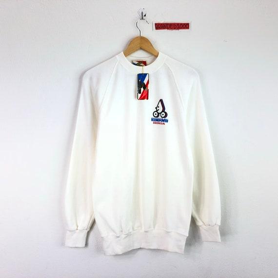 Deadstock!!!!Rare!!! Vintage 90s Honda Sweatshirt