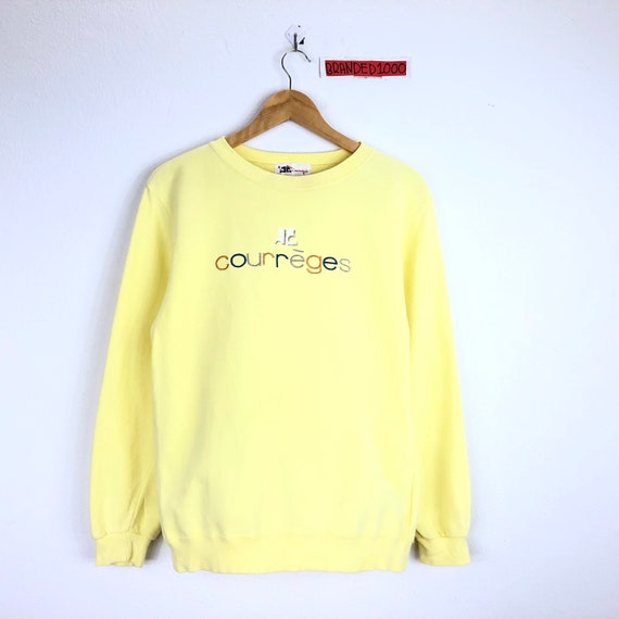 Rare!!! Vintage Courreges Sweatshirt Courreges Spe