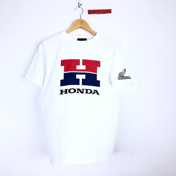 Rare!!! Vintage Honda Tshirt Honda Big Logo Spello