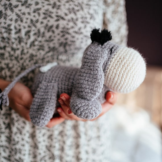 Free Little Donkey Crochet Pattern - Gathered | 570x570