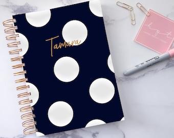 2018 Planner ~ Daily planner 2018 2019 ~ Personalised planner 2018 2019 ~ 12 month weekly planner ~ Personalised diary ~ Hoard Pretty Things