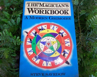 Witchcraft books etsy the magicians workbook spiritual books witchcraft pagan ritual magick yoga astral projection banishing cleansing spells talismans occult fandeluxe Gallery