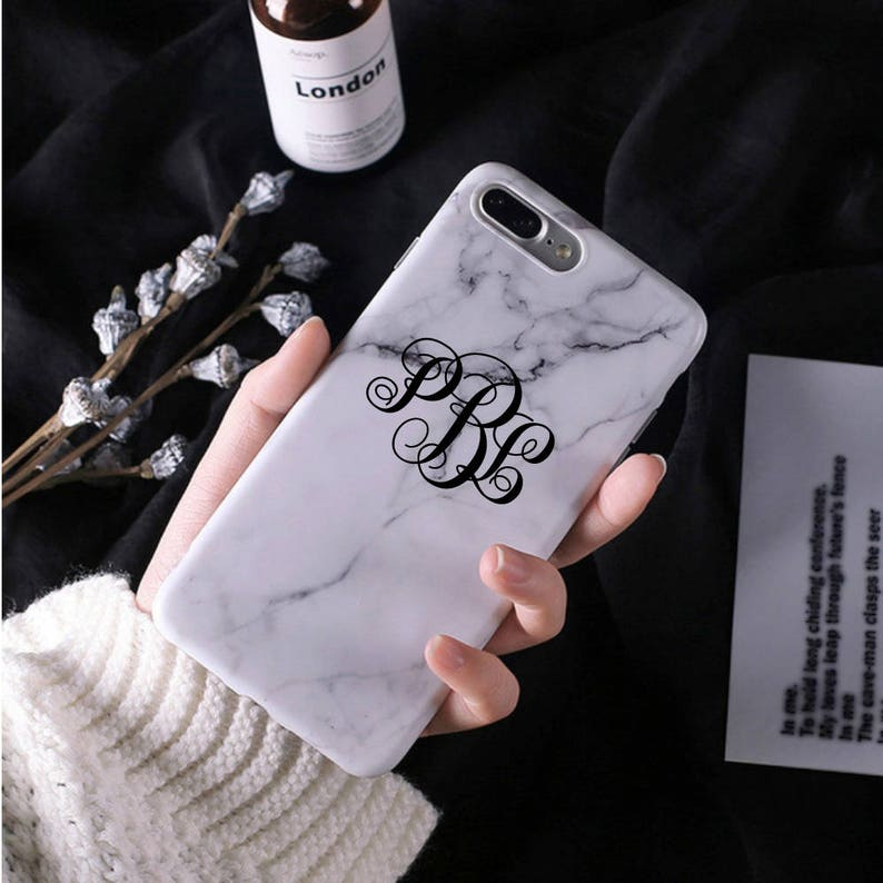 Marble iPhone case iPhone 8 Plus case iPhone 8 case iPhone 8 case  Marble iPhone 8 Plus case Marble Personalized Marble case Monogram Marble