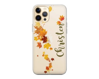 Personalized iPhone case.Autumn Fall iPhone case.iPhone 12 case.iPhone 12 Pro case.iPhone 12 Pro Max case.iPhone 13 case iPhone 11 case XR 8