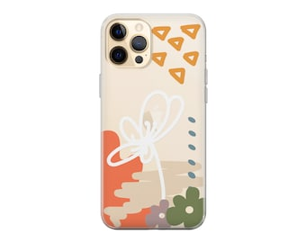 iPhone 12 Aesthetic iPhone 11 case iPhone 12 Pro iPhone 11 Pro case iPhone 11 Pro Max case iPhone XR X Xs Max 8+ XS SE 2020 Abstract Floral