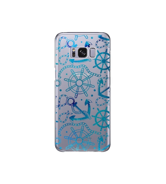 Anchors With Hearts Samsung Galaxy S10 Case S9 S8 S7 Galaxy S9Plus S8 Plus S7 Edge Phone Case