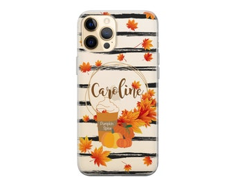 Personalized iPhone case.Autumn Fall iPhone case.iPhone 12 case.iPhone 11 case.iPhone 12 Pro case.iPhone 12 Pro Max case.iPhone X XR Xs Max