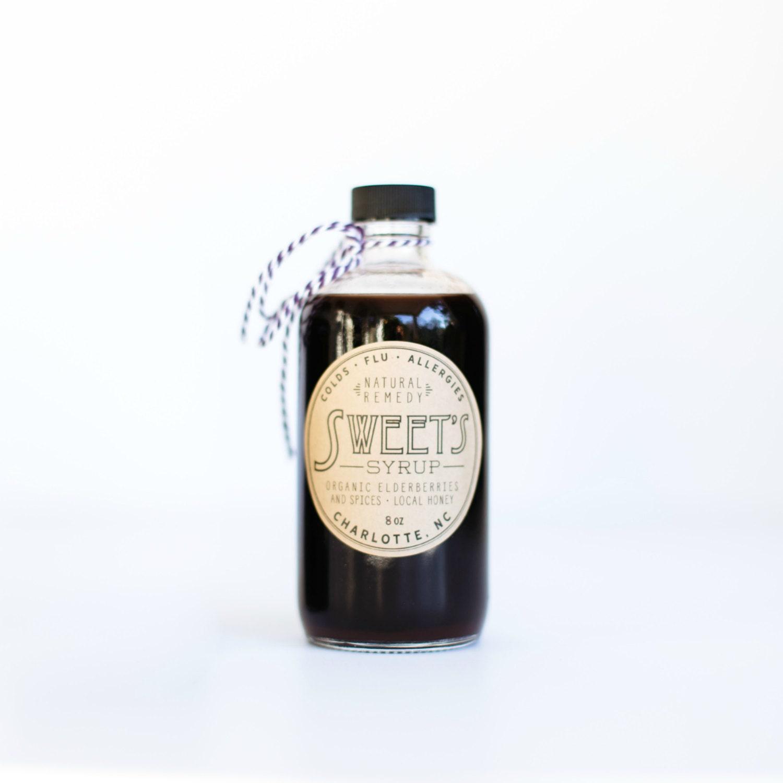 Organic Elderberry Syrup 8oz