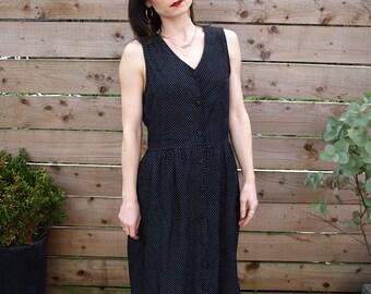 Polka Dot Cord Dress