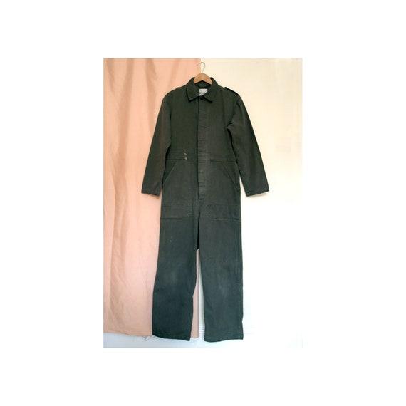 Khaki Workwear Military Boiler Suit