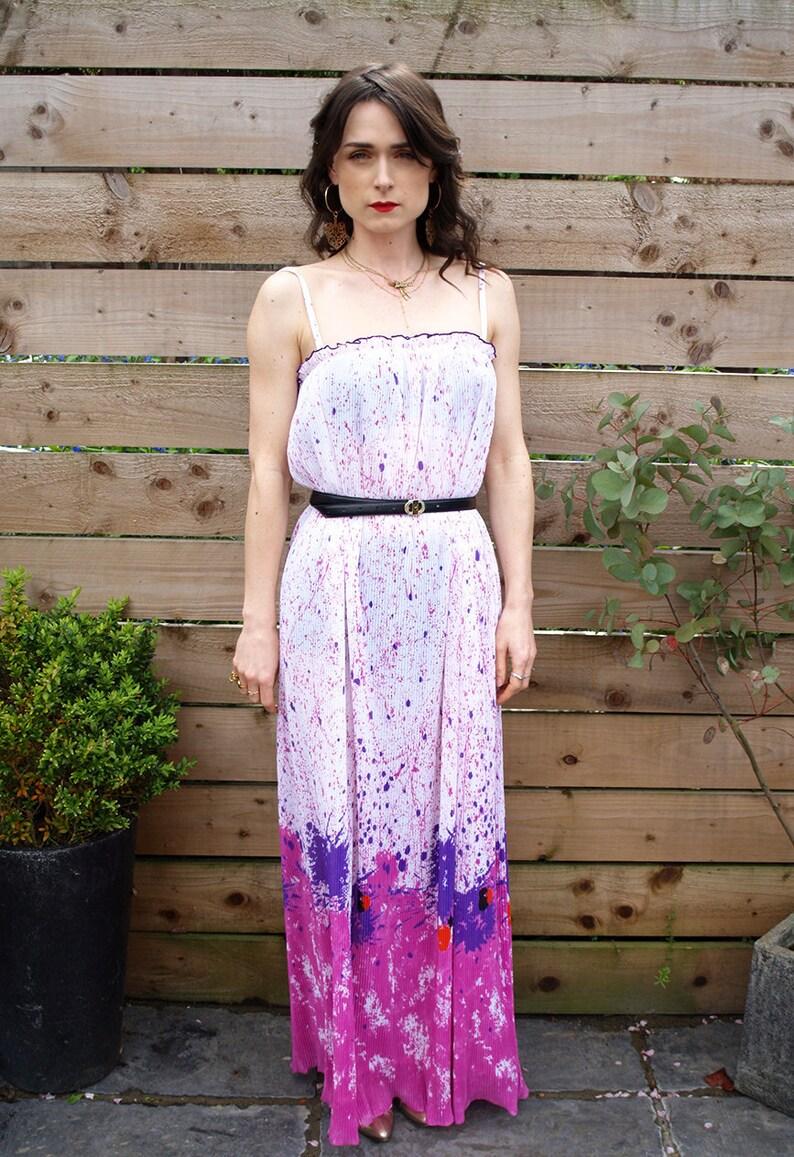 373bf4402c Vintage 70's Summer Dress | Etsy