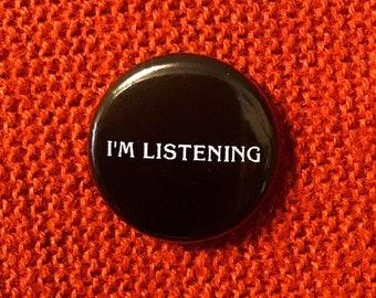 """Frasier """"I'm listening"""" - Pin"""