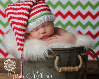 f6273157b5b cheap baby christmas pixie hat knit christmas baby hat christmas baby santa hat  xmas baby hat