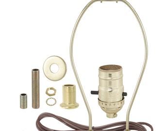 Lamp kit etsy table lamp wiring kit greentooth Choice Image