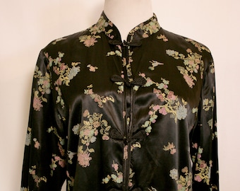 90's Notations Cherry Blossom Blouse